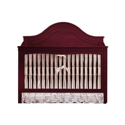Debby 2-in-1 Convertible Crib Color: Mahogany