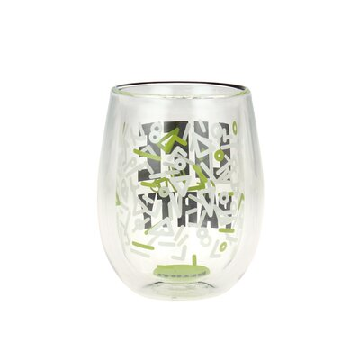 Tiverton Double Wall 'Life of the Party' 13 oz. Stemless Wine Glass