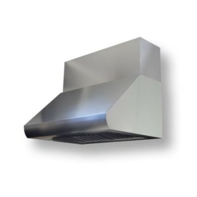 "Professional Series Range Hood Duct Covers Size: 12"" H x 48"" W x 12"" D"
