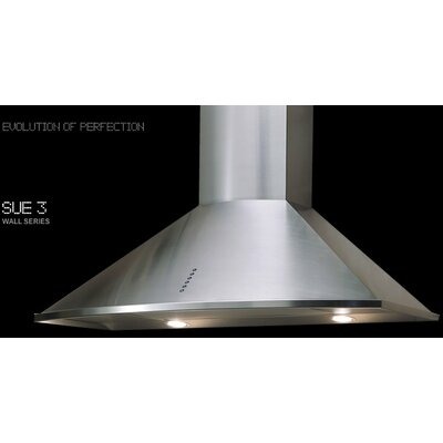 "36"" Wall Series 375 CFM Convertible Wall Mount Range Hood"