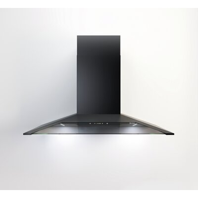 "36"" 600 CFM Convertible Wall Mount Range Hood"