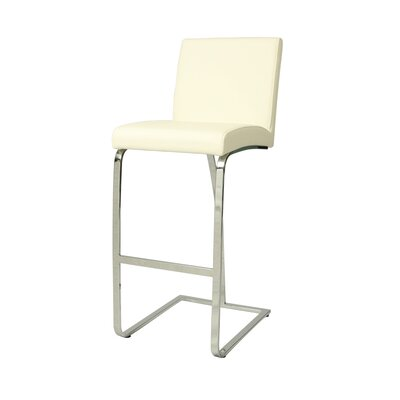 Jensen Bar Stool Upholstery: Ivory, Seat Height: 30""
