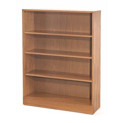 """1100 NY Series Standard Bookcase Size: 36"""" H x 36"""" W x 11.75"""" D, Finish: Walnut"""
