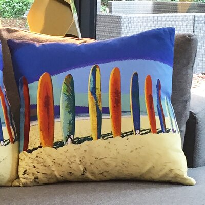 Amoloulou Surf Boards Scatter Cushion