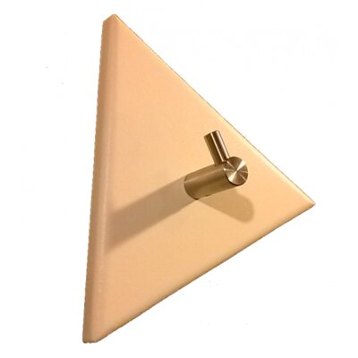 Triangular Single Hook Modern Coat Rack (Set of 2) Finish: Navy Blue