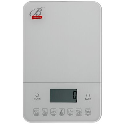 Digital Kitchen Scale Color: White