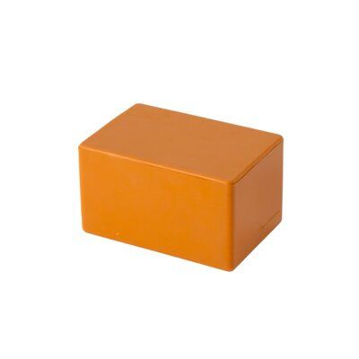 Cheese Vault Food Storage Container Color: Orange