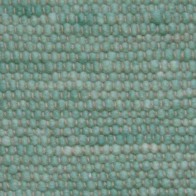 Jordan Teppiche Handgearbeiteter Teppich Atlantis in Helltürkis