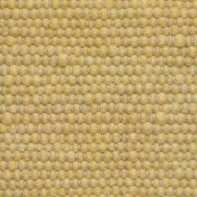 Jordan Teppiche Handgearbeiteter Teppich Atlantis in Hellgelb
