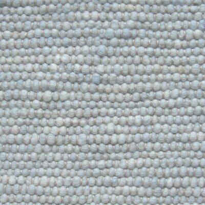 Jordan Teppiche Handgearbeiteter Teppich Atlantis in Hellblau