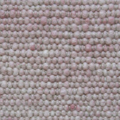 Jordan Teppiche Handgearbeiteter Teppich Atlantis in Dunkelrosa