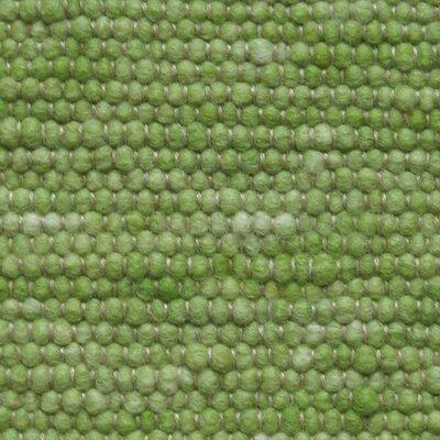 Jordan Teppiche Handgearbeiteter Teppich Atlantis in Apfelgrün