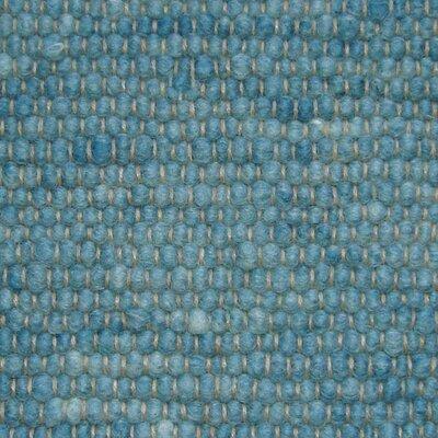 Jordan Teppiche Handgearbeiteter Teppich Atlantis in Oceanblau