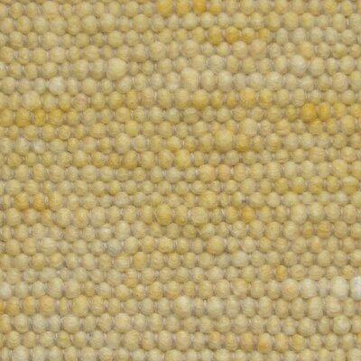 Jordan Teppiche Handgearbeiteter Teppich Atlantis in Gelb