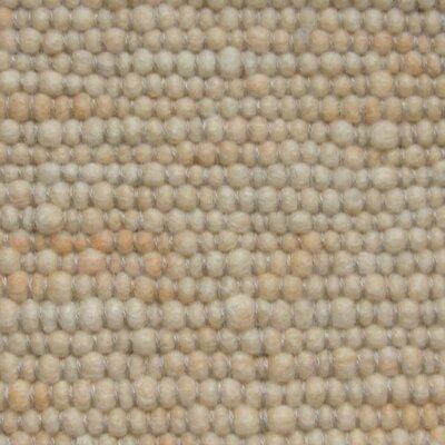 Jordan Teppiche Handgearbeiteter Teppich Atlantis in Apricot