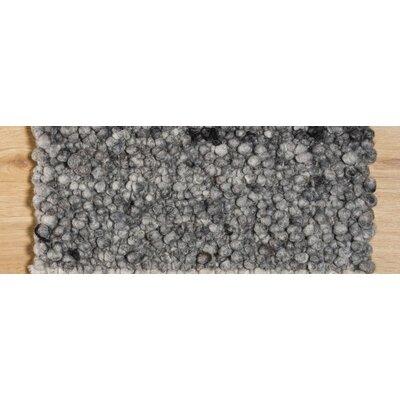 Jordan Teppiche Handgearbeiteter Teppich Seefeld in Grau