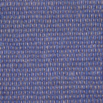 Jordan Teppiche Handgearbeiteter Teppich Atlantis in Mittelblau