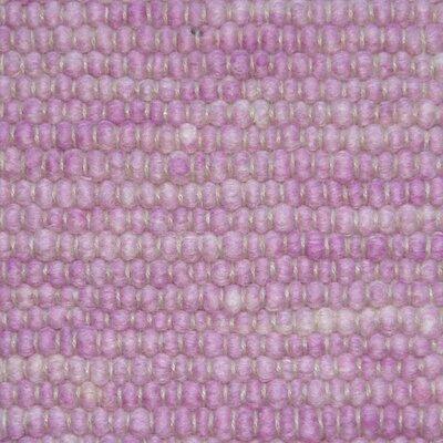 Jordan Teppiche Handgearbeiteter Teppich Atlantis in Malve