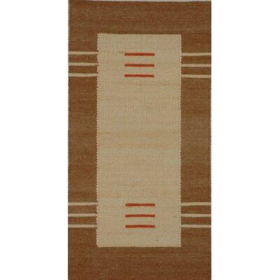 Jordan Teppiche Handgearbeiteter Teppich Toskana in Beige