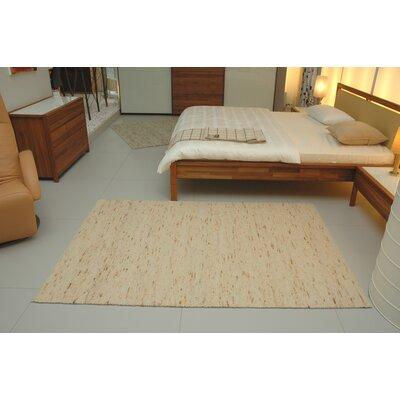 Jordan Teppiche Handgearbeiteter Teppich Imst in Apricot-Gold
