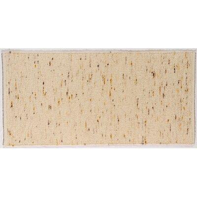 Jordan Teppiche Handgearbeiteter Teppich Imst in Gold-Braun