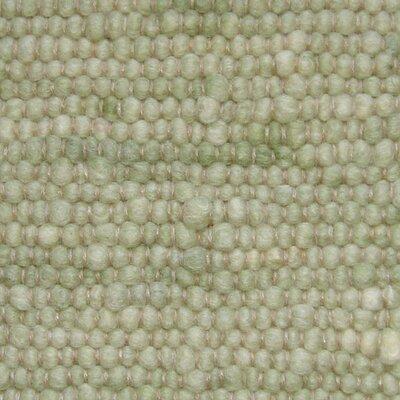 Jordan Teppiche Handgearbeiteter Teppich Atlantis in Hellgrün