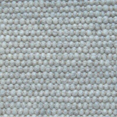 Jordan Teppiche Handgearbeiteter Teppich Atlantis in Silbergrau