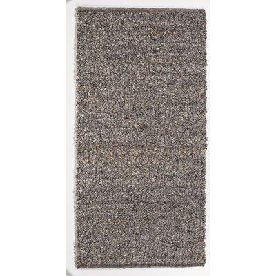 Jordan Teppiche Handgearbeiteter Teppich Seefeld in Grau-Braun