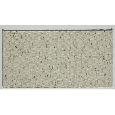 Jordan Teppiche Handgearbeiteter Teppich Kitz in  Olive-Beige