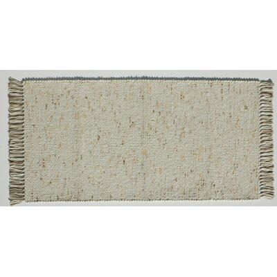 Jordan Teppiche Handgearbeiteter Teppich Kitz in  Beige