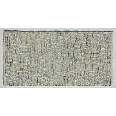 Jordan Teppiche Handgearbeiteter Teppich Kitz in Mint