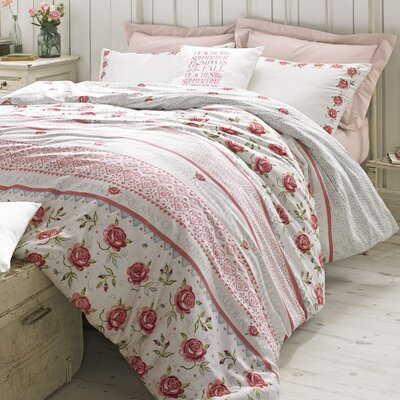 Emma Bridgewater Rose and Bee 100% Cotton Duvet Cover