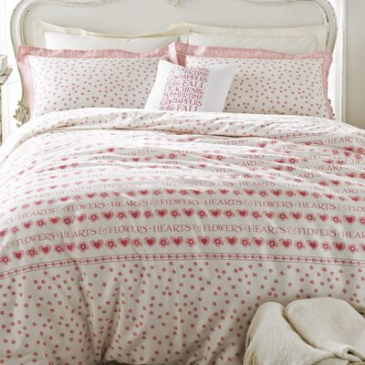 Emma Bridgewater Hearts and Flowers 100% Cotton Duvet Cover