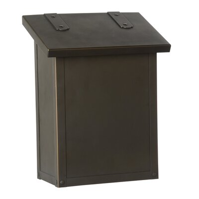 Classic Wall Mounted Mailbox Finish: Architectural Bronze