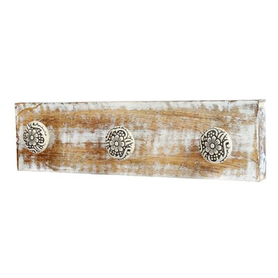 3 Ceramic Knob Jewellery Rack