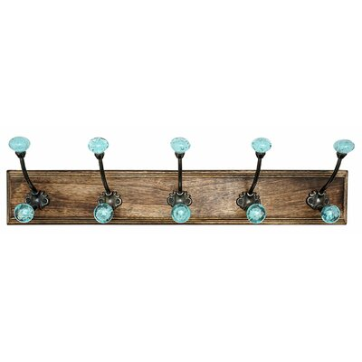 Bubble Glass Hook Rack