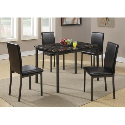 Simental 5 Piece Dining Set