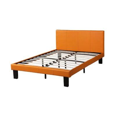 Menendez Panel Bed Size: Full, Bed Frame Color: Citrus