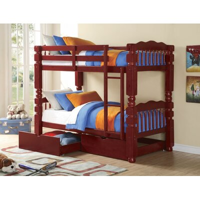 Englewood Twin Bunk Bed with Drawers