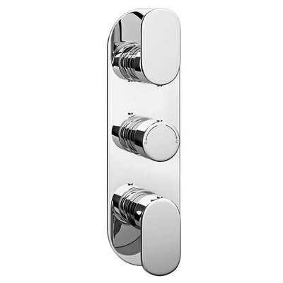 DeéGB Bella Twin Concealed Thermostatic Shower Valve