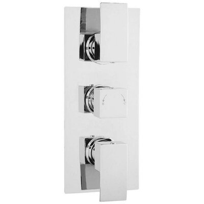 DeéGB Cubi Twin Concealed Thermostatic Shower Valve
