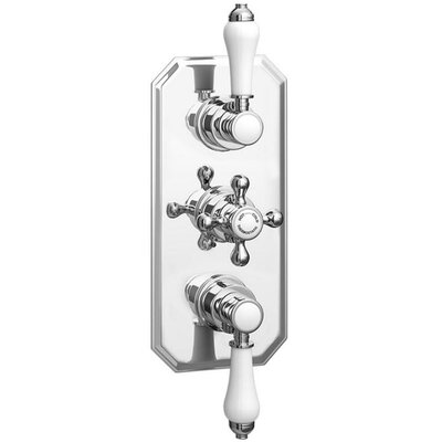 DeéGB Traditional Twin Concealed Thermostatic Shower Valve