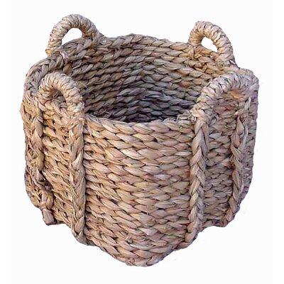 Artesania San Jose Square Basket For Firewood