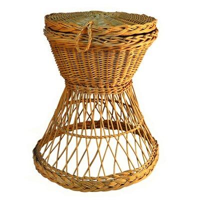 Artesania San Jose Round Basket with Cover