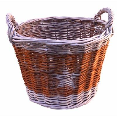Artesania San Jose Round Basket with Star