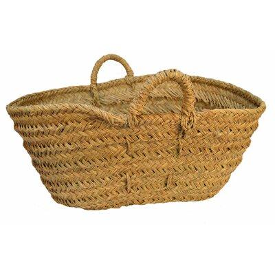 Artesania San Jose Oval Basket For Firewood