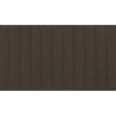 Munson Bath Rug Color: Chocolate