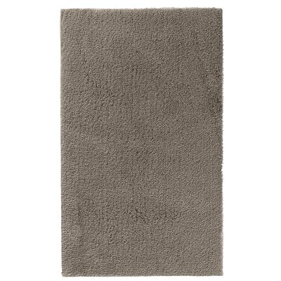 """Fortney Rayon from Bamboo Cloud Bath Rug Color: Stone, Size: 20"""" W x 30"""" L"""