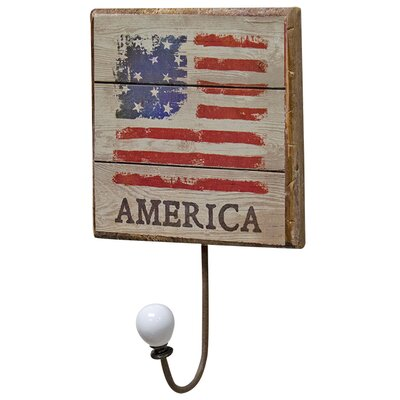 America Flag Wall Hook