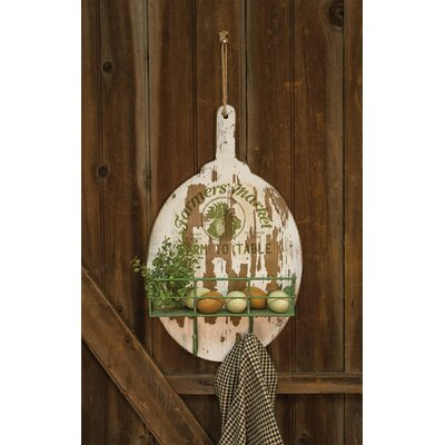 Lejun Farmers Market Shelf and Wall Hook